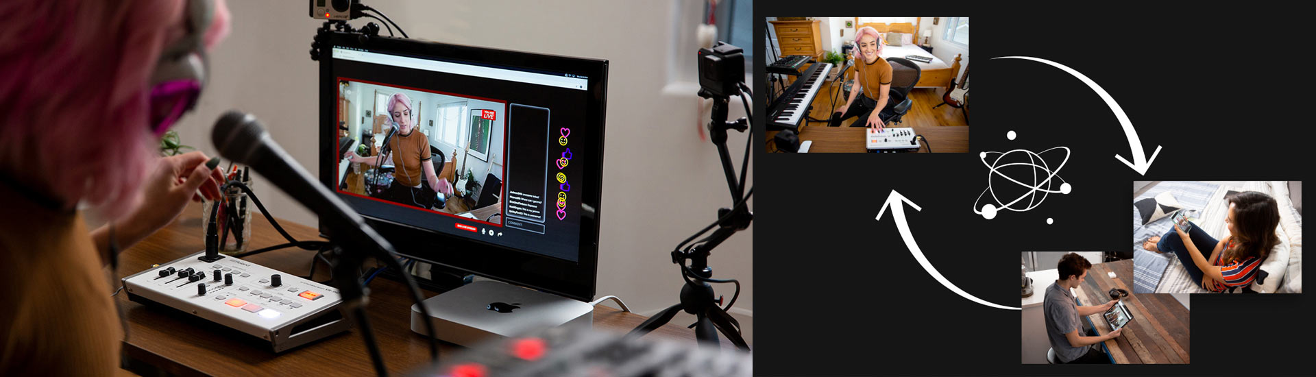 Plug and Play Live-Streaming mit Roland Professional A/V