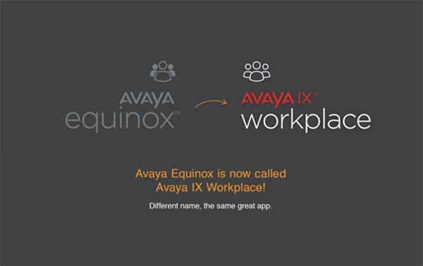 Avaya Workplace