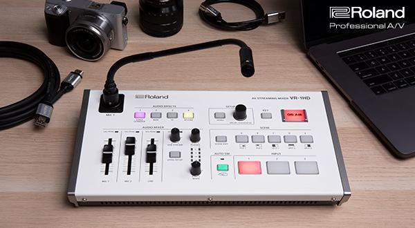 Streaming-Lösung Roland VR-1HD