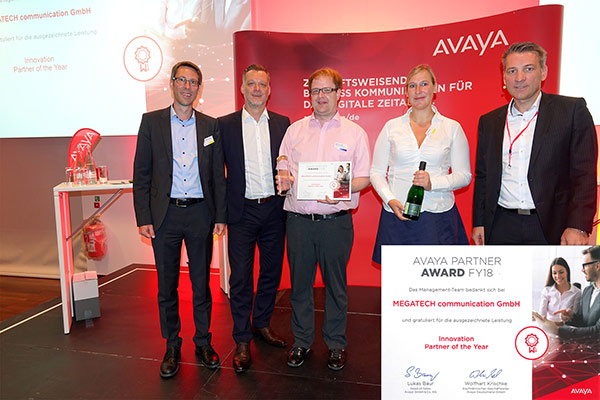 Avaya Partner Awards FY 18