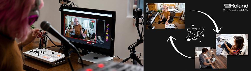 Livestreaming mit dem VR-1HD